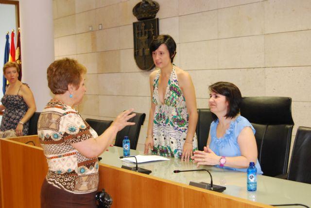 La alcaldesa y la nueva concejal de Educación se reúnen con los directores de los Centros Educativos, Foto 2