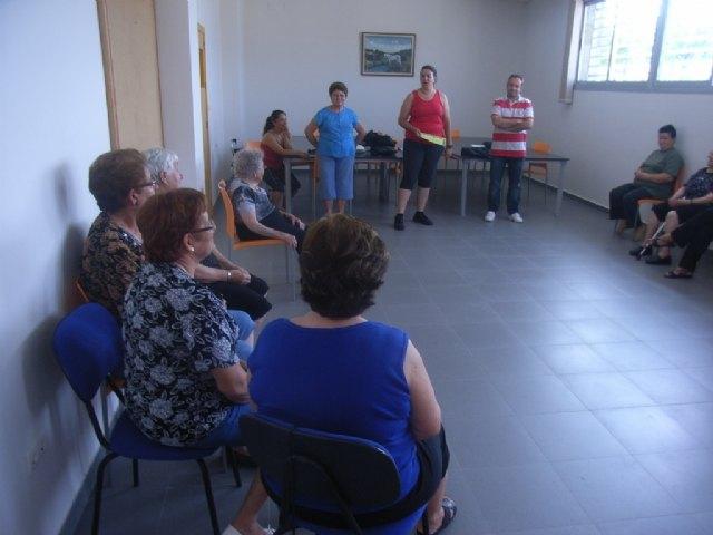 La concejalía de Deportes clausura el programa de gimnasia de mayores del Paretón, Foto 1