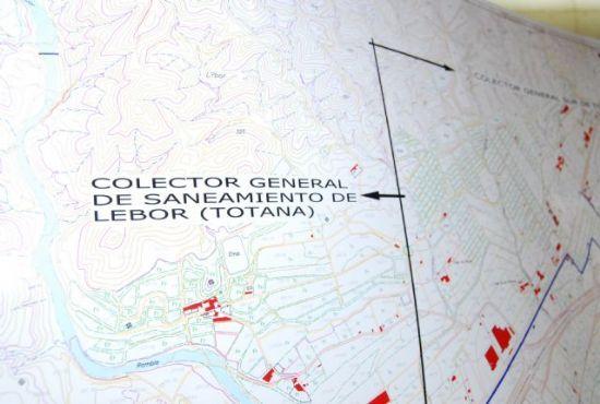 La Comunidad Autónoma ha sacado a licitación las obras del colector de saneamiento Totana Sur-Lébor, Foto 1