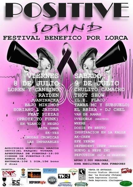 Organizan un festival de rap benéfico por Lorca, Foto 1