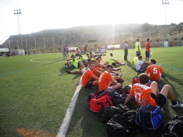 Más de 420 futbolistas han participado este fin de semana en el Torneo de Fútbol 7, celebrado en la Ciudad Deportiva Sierra Espuña, Foto 6