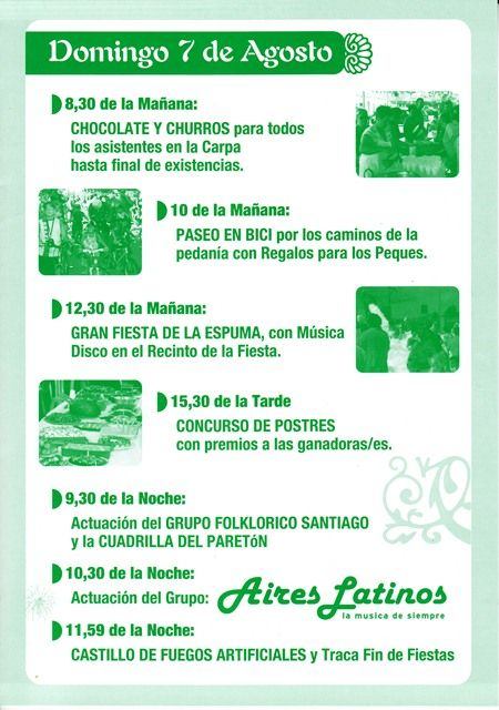 La Pedanía de la Costera celebra sus Fiestas de Verano este fin de semana con un amplio abanico de actuaciones y actividades, Foto 3