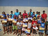 El concejal de Deportes clausura los Campus de Verano correspondientes a la 2ª quincena de julio - 2