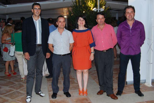 Autoridades municipales asisten a los actos conmemorativos por la festividad de Santa Marta, patrona de los profesionales de la hostelería, Foto 1
