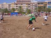 Todo preparado para el I Torneo de Fútbol Playa
