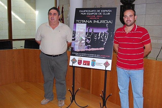 Totana acoge del 10 al 14 de agosto el Campeonato de España de Ajedrez, por equipos de club, Foto 1