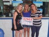 Vendido en Totana un primer premio de la Lotería Nacional, dotado con 300.000 euros al número