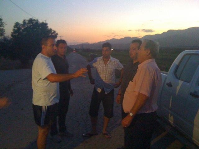 Los concejales de Seguridad Ciudadana y Agricultura acompañan a los agricultores en las labores de vigilancia que se realizan en coordinación con la Policía Local, Foto 4