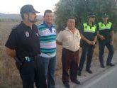 Los concejales de Seguridad Ciudadana y Agricultura acompañan a los agricultores en las labores de vigilancia que se realizan en coordinación con la Policía Local