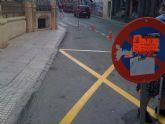 Aprovechan el mes de agosto para repintar las zonas de estacionamiento de la ORA y residentes