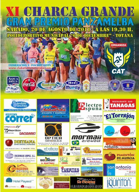 La XI Charca Grande Gran Premio Panzamelba tendrá lugar el próximo 20 de agosto, Foto 1