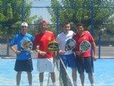 Éxito de convivencia en el I Torneo de Pádel Olímpico de Totana