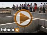 La Comunidad garantiza la calidad del agua depurada de Totana con la inauguración del Tratamiento Terciario