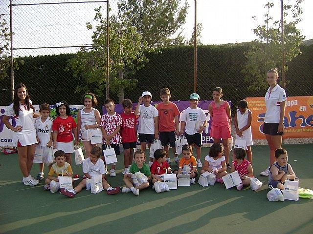 Comienza la Escuela de Tenis del Club de Tenis de Totana., Foto 1