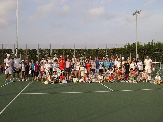 Comienza la Escuela de Tenis del Club de Tenis de Totana., Foto 2