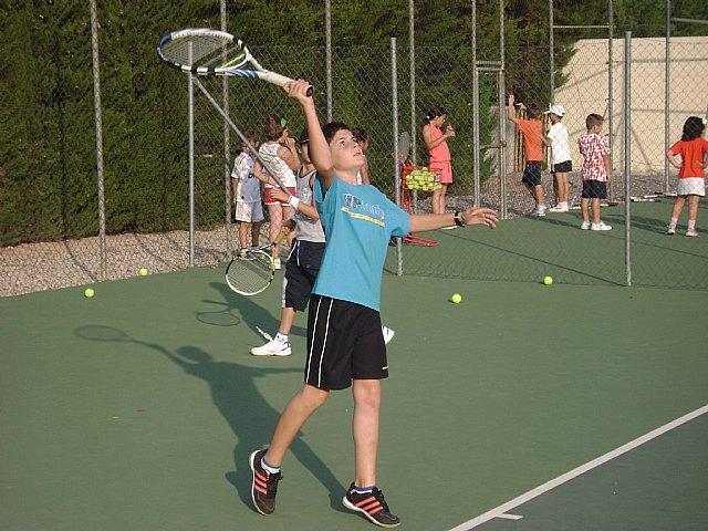 Comienza la Escuela de Tenis del Club de Tenis de Totana., Foto 5