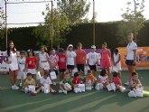 Comienza la Escuela de Tenis del Club de Tenis de Totana.