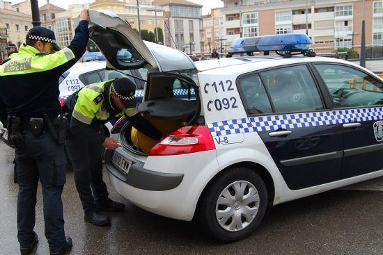 La Policía Local de Totana localiza a una persona que atropelló a una joven herida de gravedad, el cual ya ha sido detenido por la Guardia Civil, Foto 1