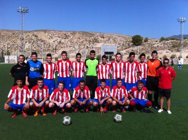 Buen fútbol este fin de semana en el Juan Cayuela de Totana, Foto 1