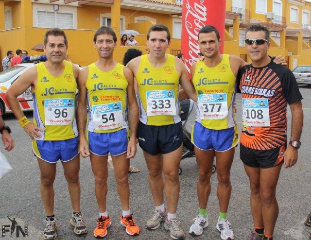 Grandes marcas y varios podiums para el Club Atletismo Totana, Foto 1