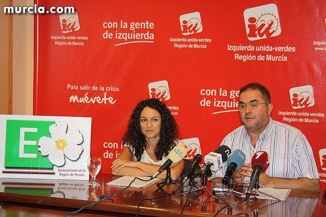 Ecosocialistas de la Región de Murcia apuesta por la unidad de toda la izquierda social, alternativa y ecologista, Foto 1