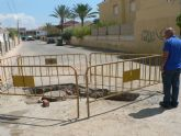 El ayuntamiento acomete mejoras en Ordenación Bahía para evitar inundaciones