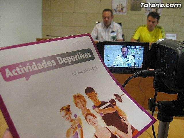 Presentación actividades deportivas. Totana 2011-2012, Foto 1