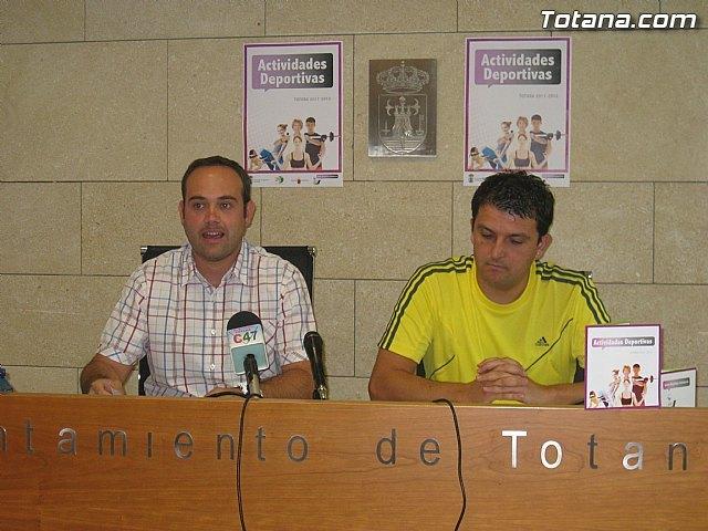 Presentación actividades deportivas. Totana 2011-2012, Foto 2
