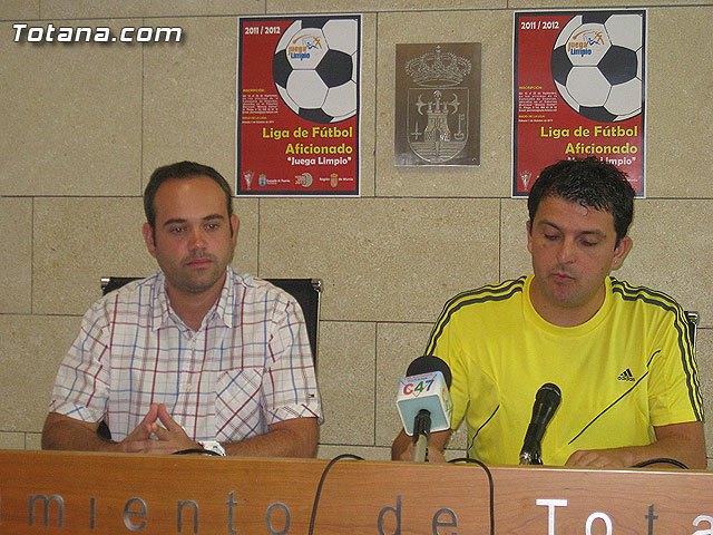 Presentación Liga de Fútbol Aficionado Juega Limpio, Foto 2