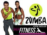La Sala Fitness Gym Misan presenta este viernes Zumba