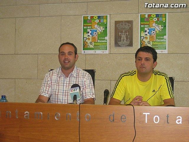 Presentación Deporte Escolar. Totana 2011-2012, Foto 2