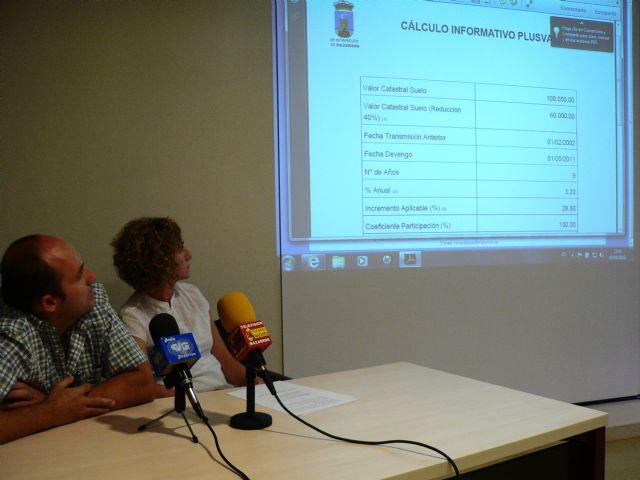 La web del ayuntamiento permite el cálculo de las plusvalías a través de Internet, Foto 2