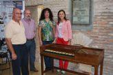 El pianoforte de Tadeo Tornel ya est� restaurado y expuesto en el Museo Arqueol�gico de Los Baños
