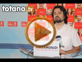 Rueda de prensa PSOE Totana. Pleno Septiembre 2011