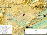 Un terremoto de 3,5 º con epicentro en Aledo se deja sentir en Totana