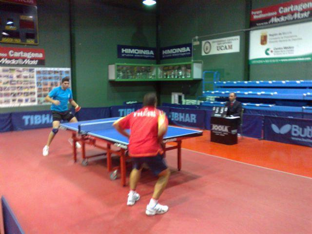 Tenis de mesa 2ª nacional. Derrota en Cartagena, Foto 1