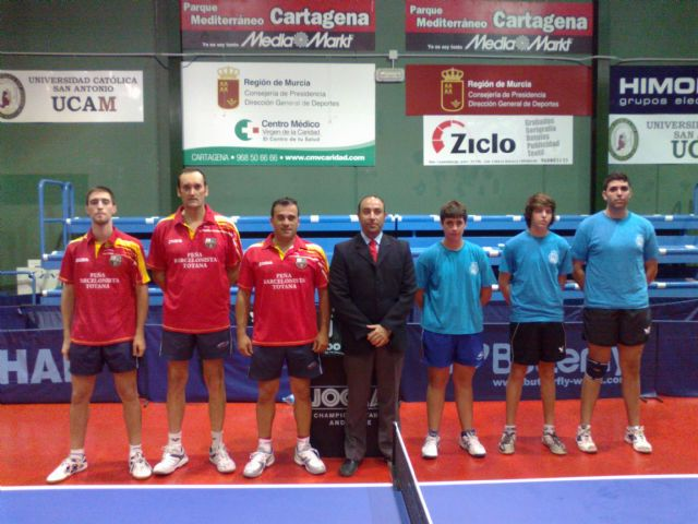 Tenis de mesa 2ª nacional. Derrota en Cartagena, Foto 2