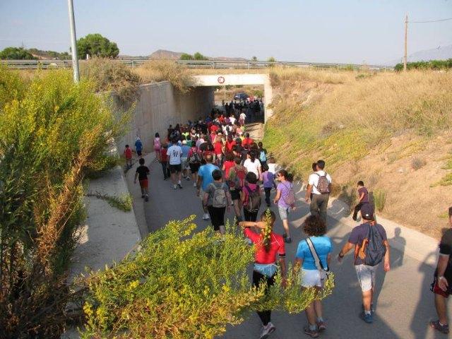 El pasado sabado 1 de Octubre, se celebraba en el recinto ferial de Totana, la 6ª Marcha solidaria, Foto 1