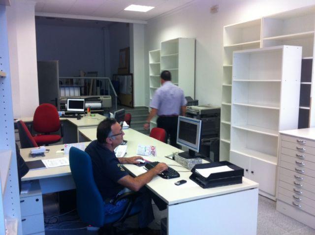 La Oficina Técnica de Obras de la concejalía de Infraestructuras Municipales presta servicio desde hoy en la planta baja de la Casa de las Contribuciones, Foto 1