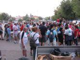 El pasado sabado 1 de Octubre, se celebraba en el recinto ferial de Totana, la 6ª Marcha solidaria - 8