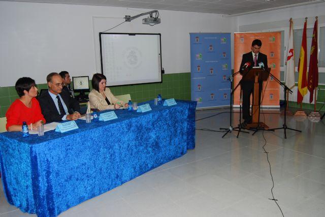 El Colegio Luís Pérez Rueda acoge por primera vez en su historia el acto oficial del inicio del curso escolar 2011/2012, Foto 1