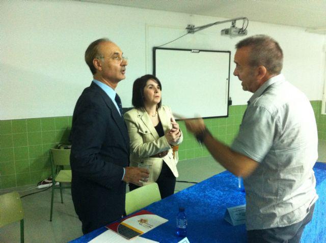 El Colegio Luís Pérez Rueda acoge por primera vez en su historia el acto oficial del inicio del curso escolar 2011/2012, Foto 2