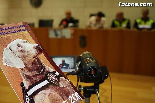 Totana acogerá, del 17 al 21 de octubre, el I Encuentro Interpolicial de guías caninos de la Región de Murcia, Foto 1