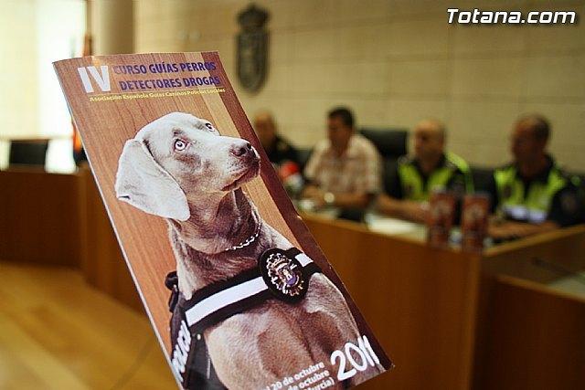 Totana acogerá, del 17 al 21 de octubre, el I Encuentro Interpolicial de guías caninos de la Región de Murcia, Foto 3
