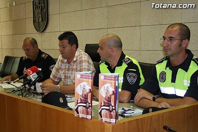 Totana acogerá, del 17 al 21 de octubre, el I Encuentro Interpolicial de guías caninos de la Región de Murcia, Foto 4