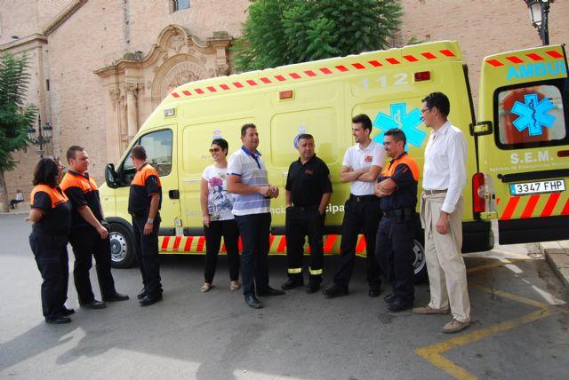 Protección Civil asume a partir de mañana el servicio de transporte sanitario para eventos municipales, Foto 2