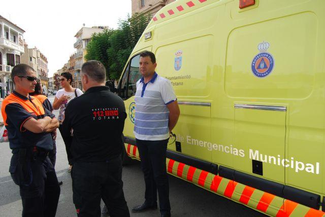 Protección Civil asume a partir de mañana el servicio de transporte sanitario para eventos municipales, Foto 6