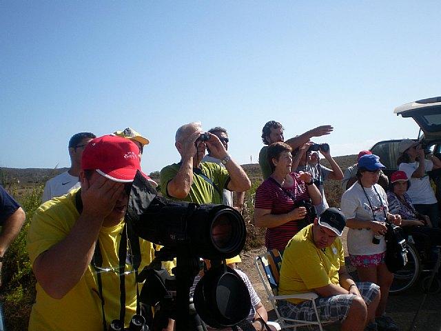 PADISITO participó el pasado domingo 9 de octubre en el Dia Mundial de las Aves, visitando el Parque Regional de Calblanque, Foto 1