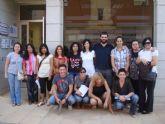 El alumnado del curso de Atención a la Dependencia visita las instalaciones de los Centros de Día Municipales de Personas Mayores
