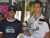 Fran Abellaneda ganó el torneo de pádel Intersport Zurano